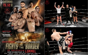 Gina en Erwin op Fights @ the border te Lommel 15 dec