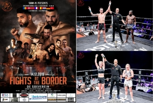 Jordy en Gina 14 dec Fights at the Border Lommel
