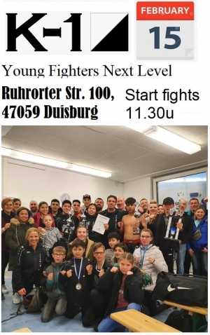 Jeugd MAC in Duisburg Young fighters next level 15.02