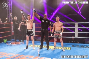 Robin wint in Lommel @ Fights at the Border...